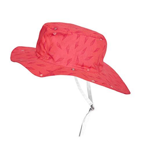 Ki ET LA - Baby Toddler Sun Hat - UPF 50 + - Reversible Ice Kream Pattern - 100% Cotton - 2-4 Years Old