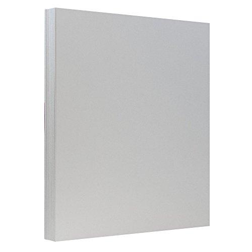 Index Grey Cardstock (JAM Paper Premium Index Cardstock - 8.5