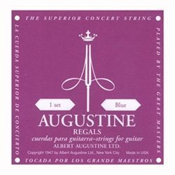 Augustine Blue Label (Augustine Classical Strings Augustine Regal Blue Label Classical Guitar Strings)