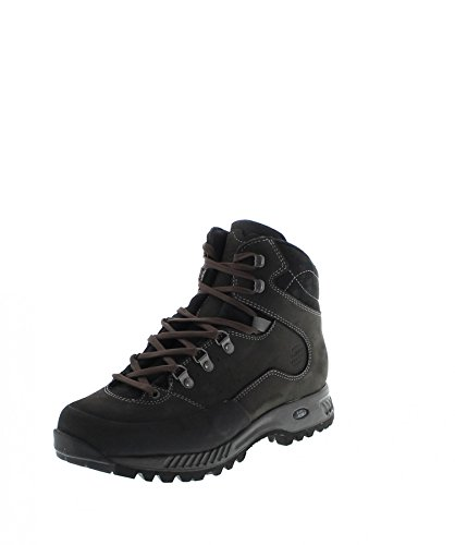 Lady Black Tudela Black Grey Hanwag Grey Ash Women's Hiking Ash Mid Shoes Black qfS11RxTn