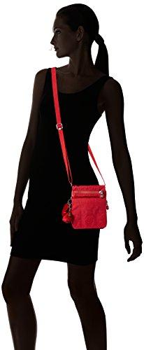 Bag Red Red Kipling Eldorado Shoulder Happy Mix Womens YwHqt
