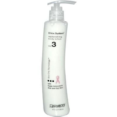 Giovanni Dtox Systems Step 3 Body Lotion, 8.5 Ounce - 6 per