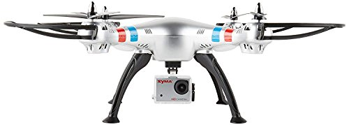 LENRUE Syma X8g 2.4G 4Ch 6 Axis Drone with 8Mp 1080P Action Hd Camera, Rc Quadcopter RTF Helicopter