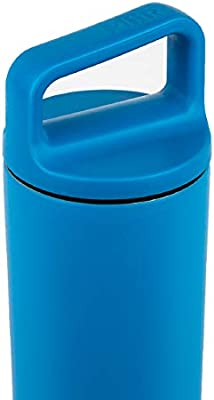 MiiR Insulated Wide Mouth Bottle with Leak-Proof Screw Top Lid 20oz Blue