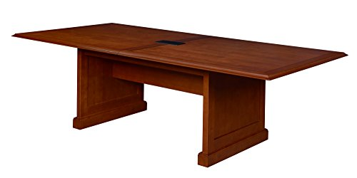 (Regency TVCTRC12048CH Prestige Traditional Veneer Rectangular Conference Table, 120-inch, Cherry)