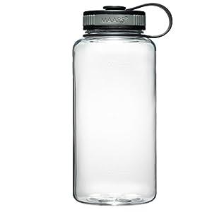 Maars Tritan Wide Mouth 34 oz. BPA-Free Sports Water Bottle   4 Pack