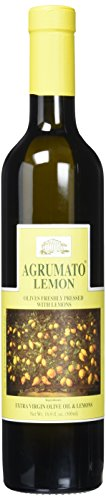 Olive Lemon Oil Agrumato - Agrumato Extra Virgin Olive Oil Pressed with Lemons, 16.9 Fluid Ounce