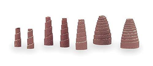Merit 1'' Aluminum Oxide Spiral Roll; Grit: 60 - 08834181734 (Pack of 20)