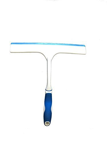 ABCO Products Blue and White Rubber Grip Shower Squeegee ...