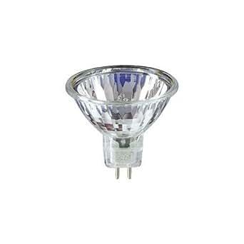 50 watt mr16 24 volt gu5 3 bi pin base halogen light bulb. Black Bedroom Furniture Sets. Home Design Ideas