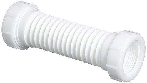 Danco 51067 Flexible Slip-Joint Coupling, White, 1-1/2