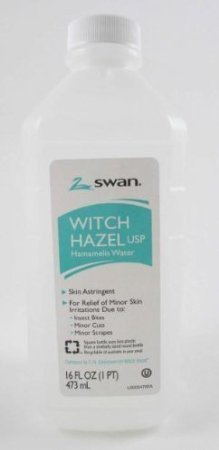 Swan Witch Hazel USP Hamamelis Water 16 Oz. - 2 Packs by Swan