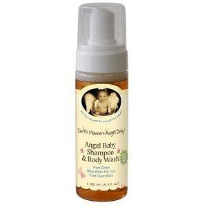Earth Mama Angel Baby-Bio Shampooing pour bébé Angel & Body Wash, 5,3 oz (160 ml)