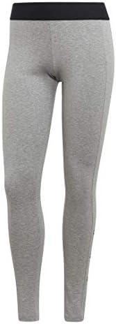 adidas Women's W Stacked Logo Cotton Tights P