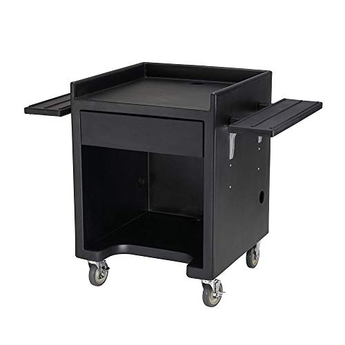Cambro ES28RL110 Black Equipment Stand with ()