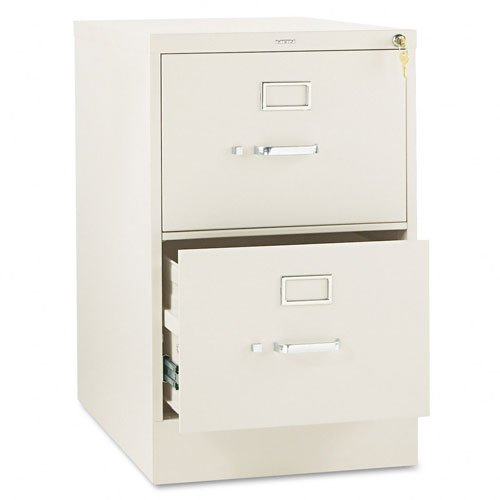 HON 312CPL 310 Series 26-1/2-Inch 2-Drawer Full-Suspension Legal File, Putty