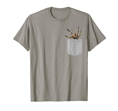 Animal in Your Pocket tarantula t-shirt
