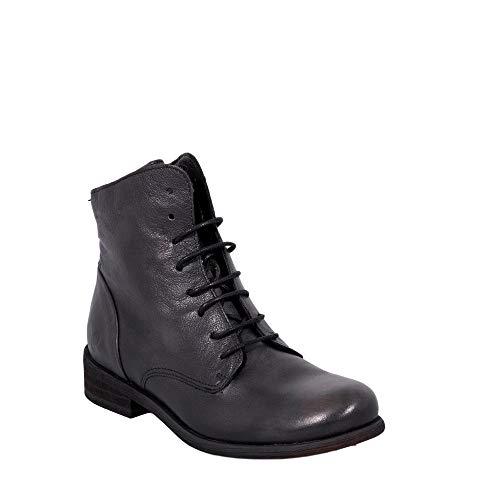 Noir Bomber Tomber Noir avec Chaussures en Femme Cuir 8134 Véritable Felmini Amour Bottines qPEY7q
