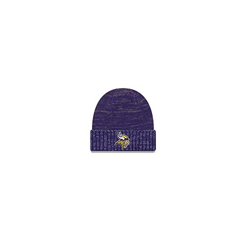 New Era Minnesota Vikings Knit Beanie Cap Hat Nfl 2017 Color Rush 11461032