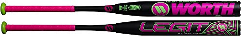 - Worth WWATML-3-26.5 Legit Mln 13.5 XL Reload 34x26.5 Softball Bat