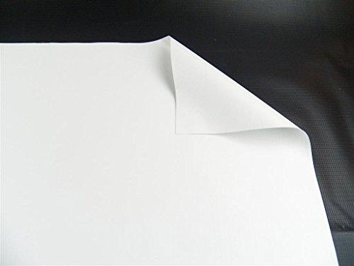 White Vinyl Mesh Tarps (Vinyl Pond Liner 20 oz. 22 mil Heavy Duty White Tarp (10' x 10'))