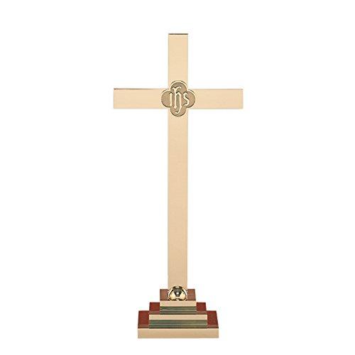Christian Brands Church Supply SB150-30 30 in. Altar Cross & IHS by Christian Brands Church Supply