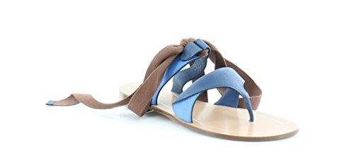 Sarah Flint Grear Womens Sandals & Flip Flops Marine Vachetta