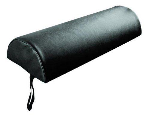 Sivan Health and Fitness Half Round Massage Table Bolster, Black