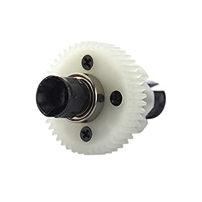 Isali Hot 15-ZJ06 Complete Differential Mechanism Spare Parts for S911/S912 RC Car Models Racing RC Car HSP Off Road Monster Truck - (Color: as The Picture): Garden & Outdoor
