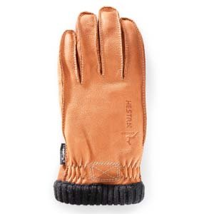 Hestra Deerskin Primaloft Ribbed Glove - Men's Cork 9