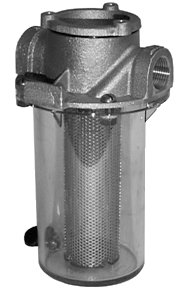 "Groco ARG-1000 Series 1"" Raw Water Strainer w/Non-Metallic Plastic Basket"