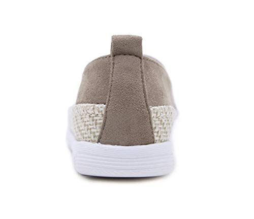 Casuel Slip Noir Daim Beige On Chaussures Conduite Confort Femme Loafers Qzx Cuir Loafer Espadrilles Mocassins Plate ZIwq6zxY8