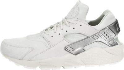 Nike Men's Air Huarache Run PRM Light Bone/MTLC Cool Grey/Sail Running Shoe 10 Men US
