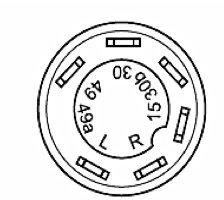 """ist im Lieferumfang enthalten /""""Arbeitsscheinwerfer/"""" Artikel Nr. KM 10 04 0041 Same Deutz Fahr Nr. 2.7659.111.0 Befestigungsmutter SW 36 Druckschalter mit Arretierung Schalter"""