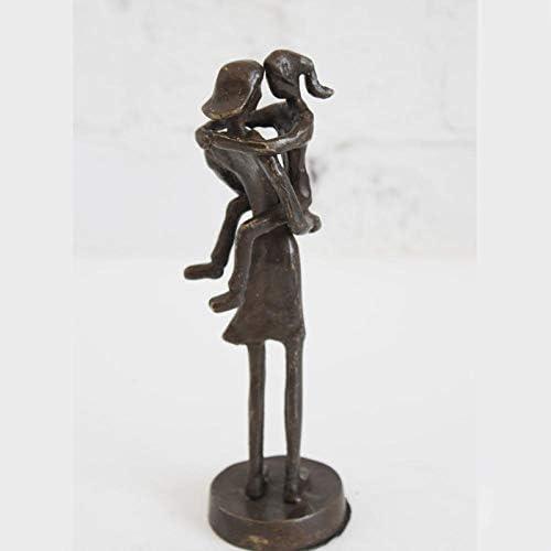 new mom gift vintage Vanguard black art deco figurine Baby shower 1960/'s Modernist statue 24 mother and child