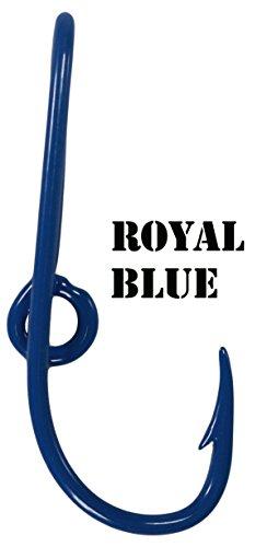 Eagle Claw Royal Blue Hat Hook Fish hook for Hat Royal Blue Fish Hook Money/Tie Clasp ()
