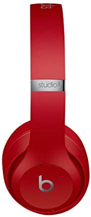 Beats Studio3 Wireless Noise Cancelling Over-Ear Headphones - Apple W1 Headphone Chip, Class 1 Bluetooth, 22 Hours of Listening Time, Built-in Microphone - Red (Latest Model)