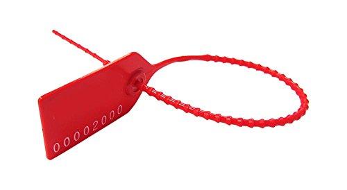 Cambridge Security Seals Medium Pull Tight, Red (MPT00101) by Cambridge Security Seals