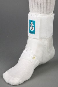 Med Spec ASO Ankle Stabilizer, White, X-Small