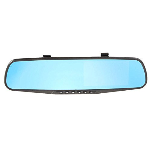 Generic 4.3 Inch HD 1080P Cam Video Recorder Rear View Back Reversing Car Mirror Camera DVR