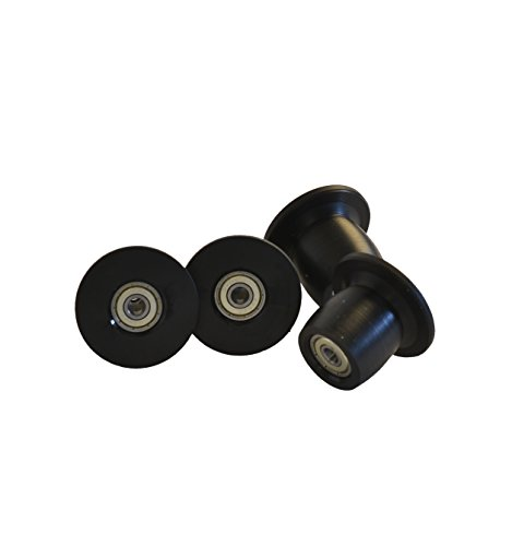 Total Gym Replacement Set of 4 Wheels/rollers for Models XL, XLS, and Fit
