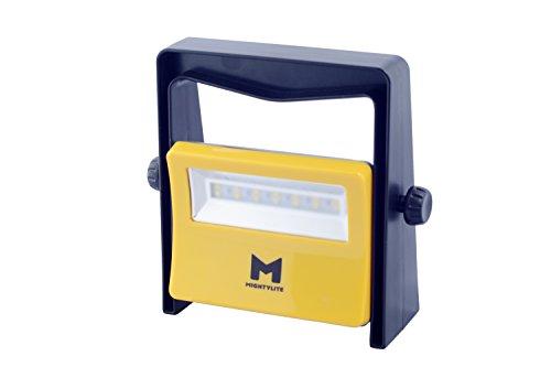 Housing Drop - MightyLite Series II, [8W 14LED] Portable Outdoor Work Light - 600 Lumen 50,000 Hour Lifespan - Industrial Grade Polycarbonate & Aluminum Housing, Drop-Resistant, Ultra Durable Compact Flood Light