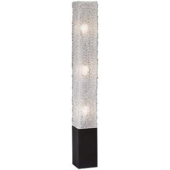 Textured clear acrylic rectangular floor lamp amazon textured clear acrylic rectangular floor lamp aloadofball Gallery