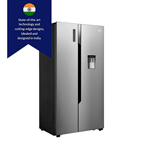 Bpl 564 L Frost Free Side By Side Refrigerator Brs564h Steel