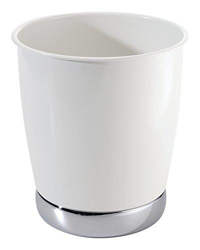 mDesign Wastebasket Bathroom Office Kitchen