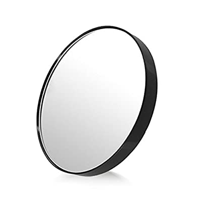 EYX Formula 10X Sucker Magnifier makeup Mirror on washroom,bathroom,bedroom, Magnifying vanity Mirror with Suction Cup for Makeup Tool