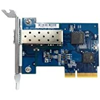 QNAP Network LAN-10G1SR Single-port SFP+ Network Expansion Card with Rackmount/Desktop Bracket Retail