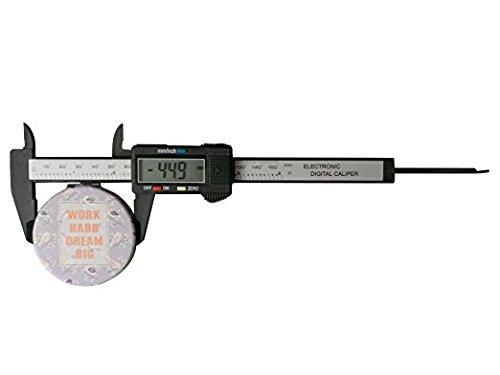 Vernier Pie De Rey Calibrador Digital 15 Cms Hecho Plastico