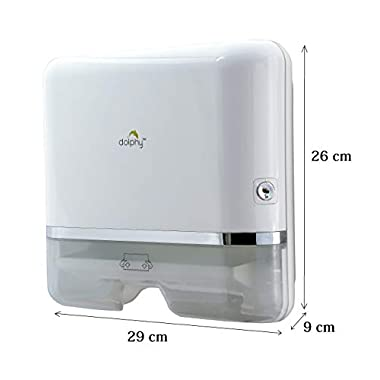 Dolphy Multifold Mini Hand Towel Paper Dispenser White 7