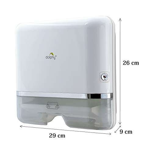 Dolphy Multifold Mini Hand Towel Paper Dispenser White 2